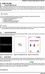 Mcube Technology Biocon900s Cubescan Charger User Manual