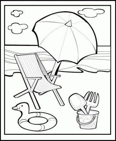 disegni da colorare mare spiaggia cerca  google