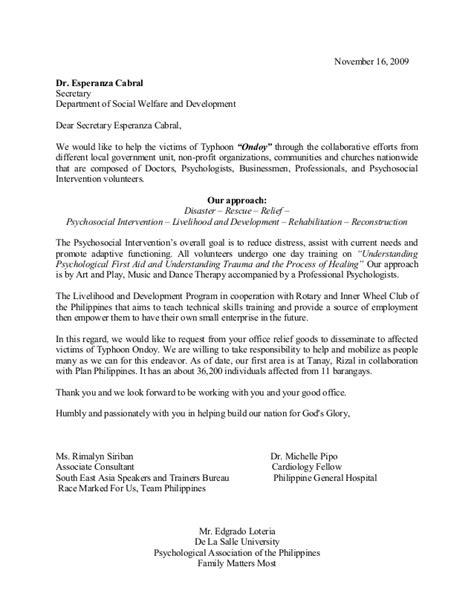 sample request letter  tagalog letter petition format