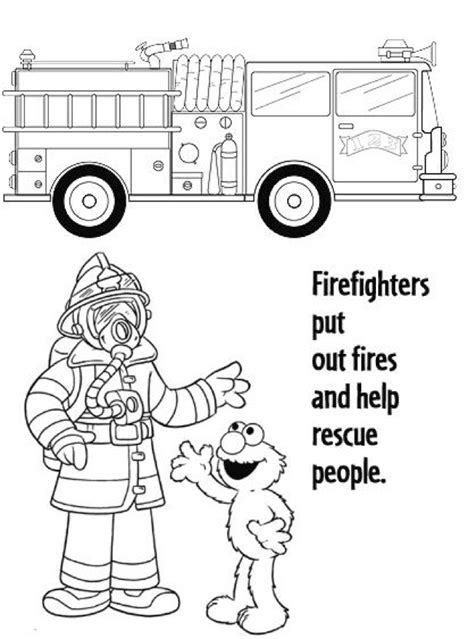 fire prevention coloring pages   print