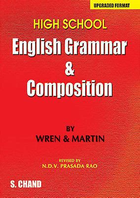 Buy High School English Grammar & Composition By Wren & Martin  (upgraded Format) Online In