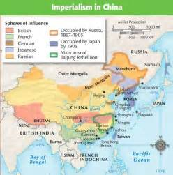 China Imperialism Map