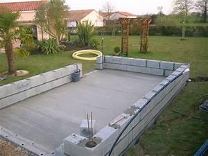 Construire Un Garage En Bois Soi Meme : construction de mon abri de jardin en parpaing maine et loire ~ Dallasstarsshop.com Idées de Décoration