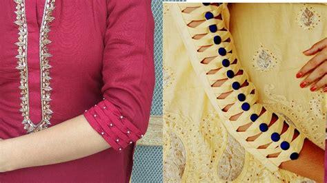 beautiful  stylish sleeves design simple craft ideas