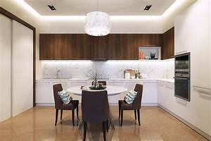 salle a manger design dans un petit appartement de ville With salle À manger blanc pour petite cuisine Équipée