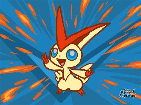 Pokemon Art Academy- Victini by Pikafan09 on DeviantArt