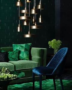 Dark, Green, Is, The, Latest, Trend, In, Interior, Design