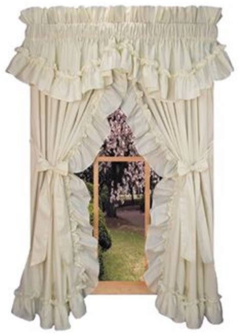 Priscilla Curtains For Living Room by Ruffled Curtain Ideas On Priscilla Curtains