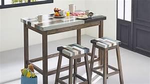 Table De Cuisine Haute : 10 tables hautes pour votre cuisine ~ Teatrodelosmanantiales.com Idées de Décoration