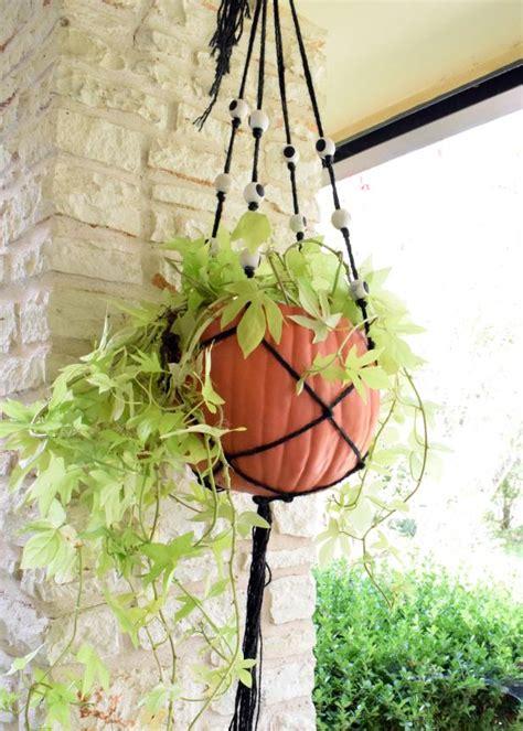 make a hanging l macrame plant hanger holder cotton hanging planter pot