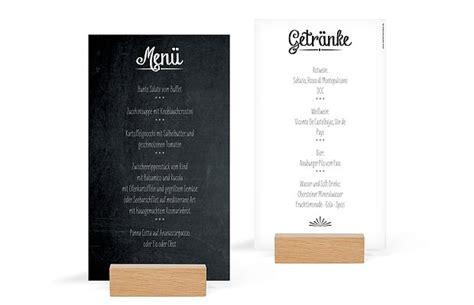 menuekarte hochzeit tafel