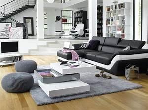 Deco Salon Moderne : je veux un salon design elle d coration ~ Teatrodelosmanantiales.com Idées de Décoration