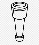 Spyglass Clipart Coloring Sketch Pinclipart sketch template