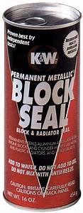 K U0026w Metallic Block Seal  Sprint Car Parts