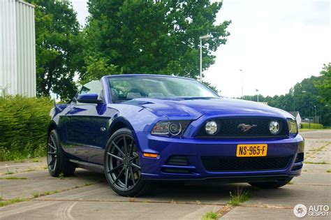 Ford Mustang Gt 2013 by Ford Mustang Gt Convertible 2013 14 June 2017 Autogespot