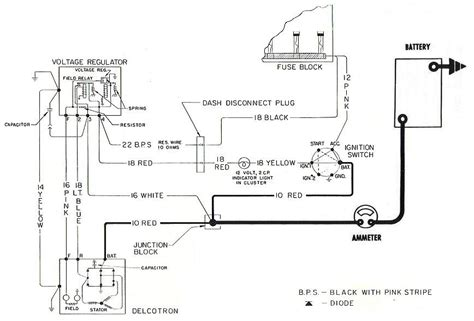 Alternator Wiring Diagram 1957 by Charging Conversions 1