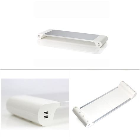 barre bureau meilleur organisateur en aluminium de bureau de barre d