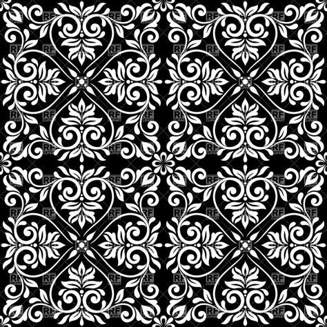 black vintage wallpaper pattern  wallpapersafari
