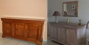 Comment Décaper Un Meuble Vernis En Chene : superbe comment peindre un meuble ancien 1 meuble chene ~ Premium-room.com Idées de Décoration