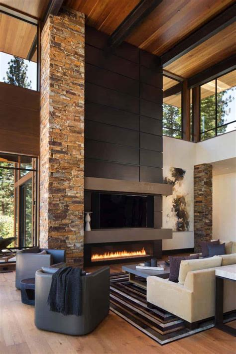contemporary home decor fabulous mountain modern retreat in the high sierras