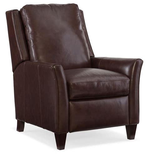 gunner leather recliner by bradington furniture