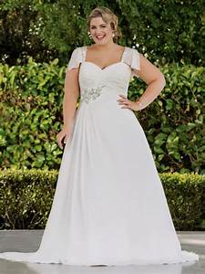 plus size empire waist wedding dresses with sleeves naf With wedding dresses for plus size ladies