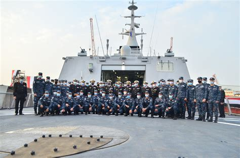 Egyptian Navy receives locally manufactured stealth frigate