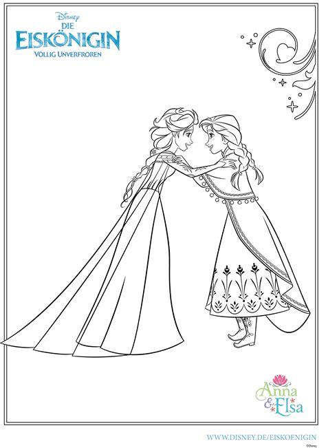 Neu Ausmalbilder Zum Ausdrucken Elsa Und Anna Hintergrund Besten