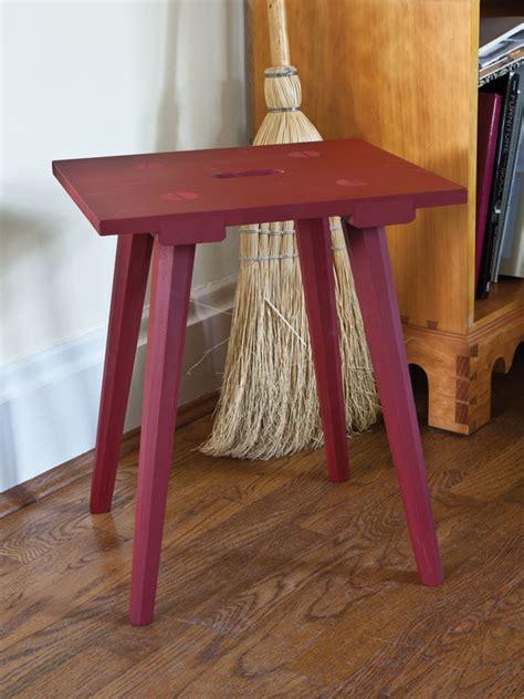 plans   moravian stool   salem