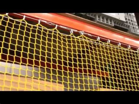 safety netting elevating rack guard incord youtube