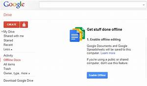 how to view edit google drive presentations while offline With google docs enable offline editing