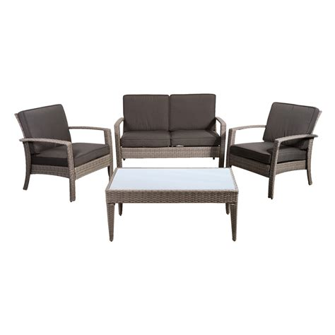 shop international home atlantic 4 wicker patio