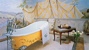 Unique Bathroom Wall Murals With Additional Home ...