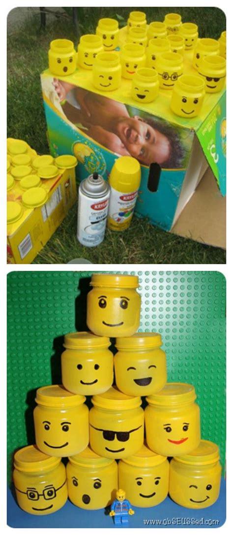 anniversaire enfant theme lego  remplir de bonbons ou de