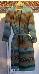 vintage beacon indian ombre blanket robe