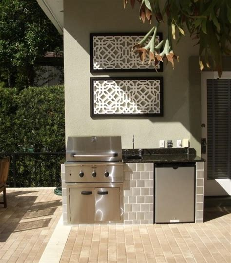 simple outdoor kitchen ideas outdoor kitchen ideas for small spaces trends images