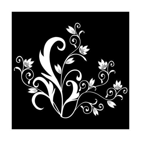 pochoir mural a imprimer pochoir mille fleurs clicanddeco