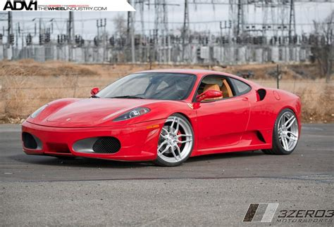 ferrari f430 custom forged adv1 ferrari f430 red adv005 mv2 sl custom forged
