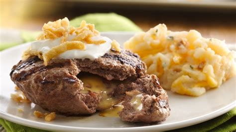 loaded burgers  loaded mashed potatoes recipe