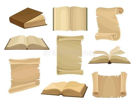 insieme delle pergamene di vettore fotografia stock immagine 24366620 accumulazione 5 delle pergamene dell annata illustrazione vettoriale illustrazione di