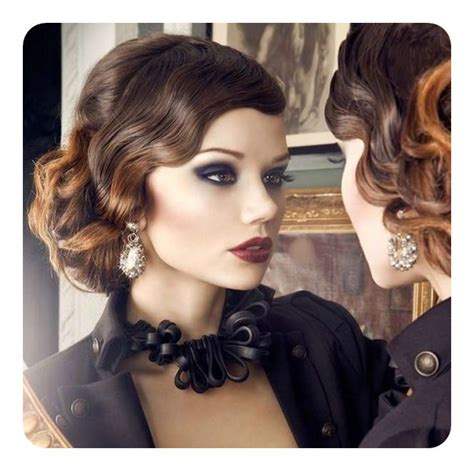 Finger Wave Updo Hairstyles by 74 Outstanding Finger Waves Hairstyle Mostly Preferred