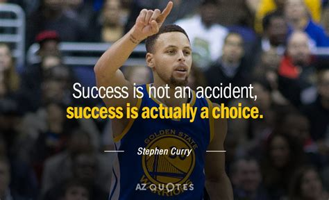 stephen curry quote success    accident success