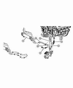 Dodge Ram 2500 Hose  Power Steering Return  Gear To Cooler