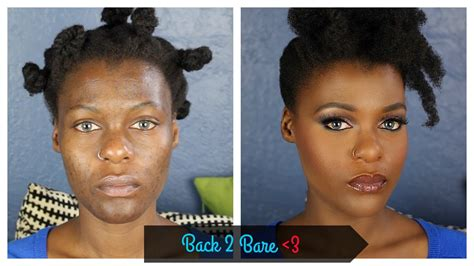 bare minerals flawless makeup  acne prone hyperpigmented dark skin youtube