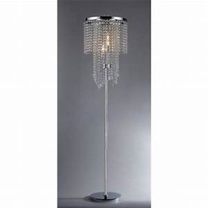 Warehouse of tiffany diana 63 in 3 light indoor chrome for Home depot 3 light floor lamp