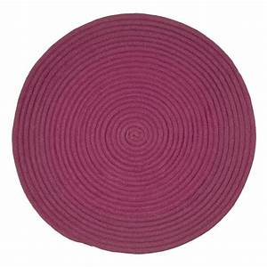 petit tapis rond violet prune tapis rond pas cher violet With tapis rond prune