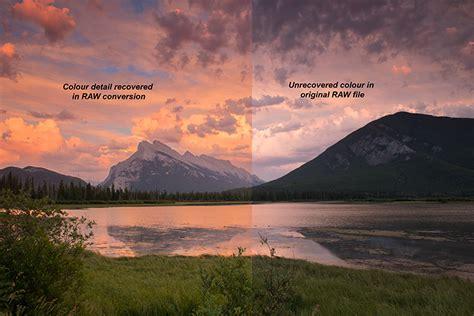reasons  shoot  landscape images  raw