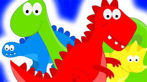 dinosaurs teaching colors learning colours for 522 | maxresdefault
