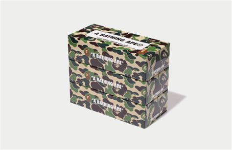 bape abc camo tissue boxes highsnobiety