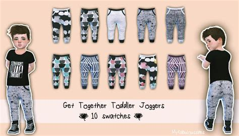 Toddler Joggers By My Fabulous